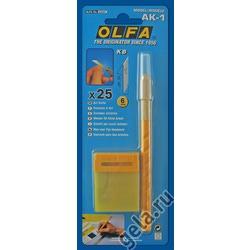 Аксессуары OLFA Нож раскройный для хобби, AK-1