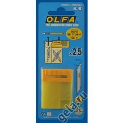Аксессуары OLFA Лезвие запасное KB для ножей АК-1, SC-1, АК-4