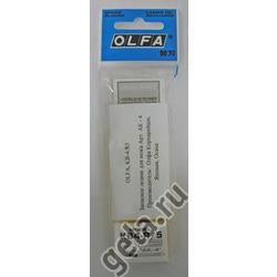 Аксессуары OLFA Запасное лезвие KB4-R/5 для ножа АК-4