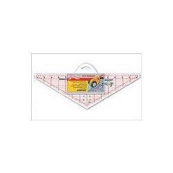 """Аксессуары Hemline Линейка - треугольник для пэчворка с углом 120 градусов 14 1/2"""" x 4 1/2"""""""