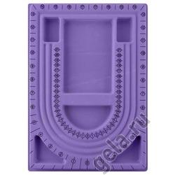 Аксессуары Trivol Лоток для работы с бисером, фиолетовый