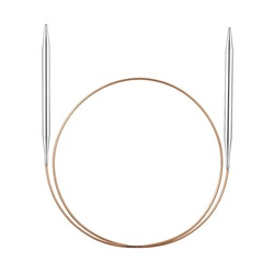 Спицы Addi Круговые супергладкие никелевые 3.75 мм / 30 см