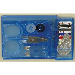 МАГ Иглы набор дорожный для ручного шитья в голубой коробочке