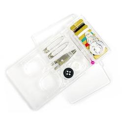 МАГ Иглы набор дорожный для ручного шитья в прозрачной коробочке