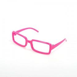 Аксессуары МАГ Очки без стекла розовые прямоугольные