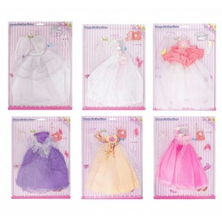 Аксессуары МАГ Платье для куклы, в ассортименте