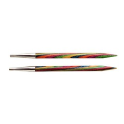 """Спицы Knit Pro съемные """"Symfonie"""" 9мм для длины тросика 28-126см, дерево, многоцветный, 2шт"""