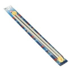 Спицы Prym прямые с наконечниками 35см 8мм пластик