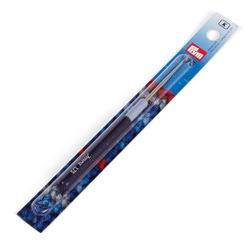 Крючок Prym для пряжи стальной с защитным колпачком №1,75