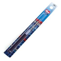 Крючок Prym для пряжи стальной с защитным колпачком №1,5
