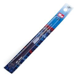 Крючок Prym для пряжи стальной с защитным колпачком №1,25