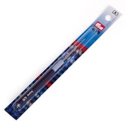 Крючок Prym для пряжи стальной с защитным колпачком №0,75