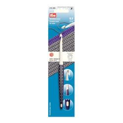 Крючок Prym для вязания, пластик, эргономик, 17см 6мм