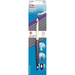 Крючок Prym для вязания, пластик, эргономик, 17см 7мм