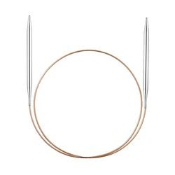 Спицы Addi Круговые супергладкие никелевые 5.5 мм / 60 см
