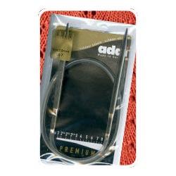 Спицы Addi Круговые носочные Sockenwunder супергладкие никелированная латунь 3 мм / 25 см