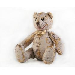 """Кукла Перловка """"Винтажный мишка"""""""