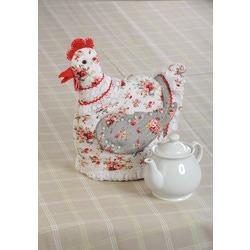 "Кукла Перловка ""Курица-грелка"" (грелка на чайник)"