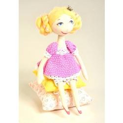"Кукла Перловка ""Принцесса на горошине"""