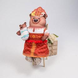 "Кукла Матренин посад ""Марья Топтыгина"""