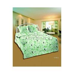 Ткань Бязь 150,зеленые ветки с птичками