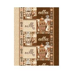 Ткань Ваф.полотно 50см, кофе