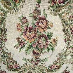 Ткань Гобелен Розы (с люрексом)