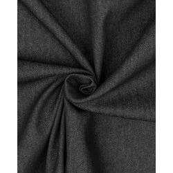 Ткань Джинс стрейч Оригинал черный меланж