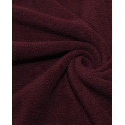 Ткань Флис однотонный 2-12, бордовый