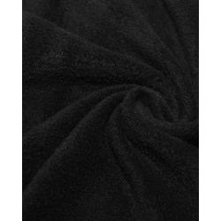 Ткань Флис однотонный 2-1, черный