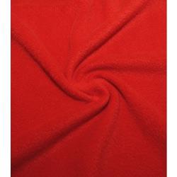 Ткань Флис однотонный 2-35, красный