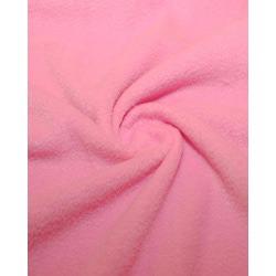 Ткань Флис однотонный 2-36, розовый
