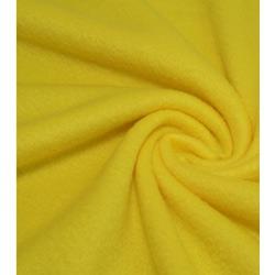 Ткань Флис однотонный 2-4,лимонно-желтый