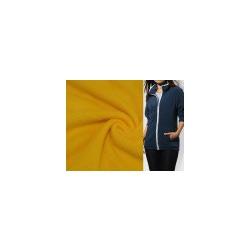 Ткань Флис однотонный 2-5, желтый