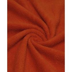 Ткань Флис однотонный 2-7,оранжевый