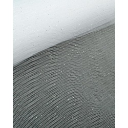 Ткань Сетка Бриллиант, цв. белый