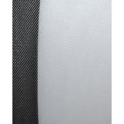 Ткань Фатин сетка металлик, цв.белый