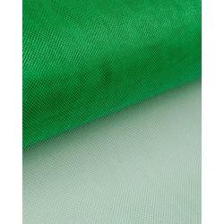 Ткань Фатин сетка металлик, цв. зеленый