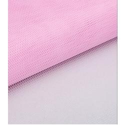 Ткань Фатин жесткий, 4-18 (180 см.) розовый