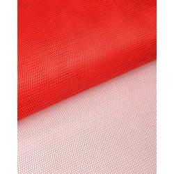 Ткань Фатин жесткий, 4-20 (180 см.) красный