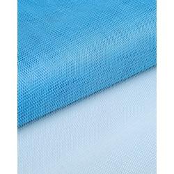 Ткань Фатин жесткий, 4-21 (180 см.) голубой