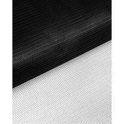 Ткань Фатин жесткий, цв.черный