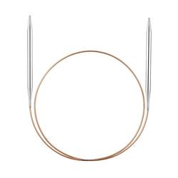 Спицы Addi супергладкие никелевые 3.5 мм / 60 см