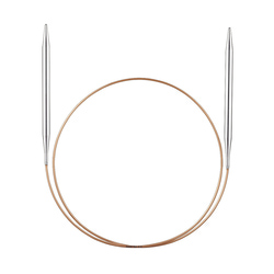 Спицы Addi супергладкие никелевые 6.5 мм / 50 см