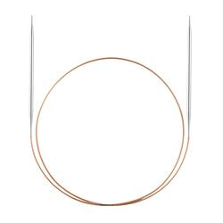 Спицы Addi Круговые супергладкие экстратонкие никелевые 1.75 мм / 50 см