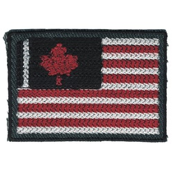 "Гела ""Термоаппликация ""Канадский флаг"""""