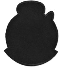 """СтарТекс """"Аппликации термо р.6,5х8 см., черный"""""""