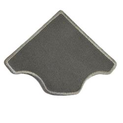 "СтарТекс ""Аппликации термо р.6х6 см., серый цв."""