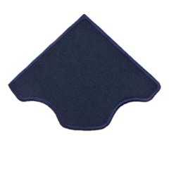 """СтарТекс """"Аппликации термо р.6х6 см. т. синяя"""""""