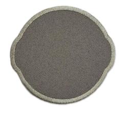 "СтарТекс ""Аппликации термо р.6,5х7 см, серый"""